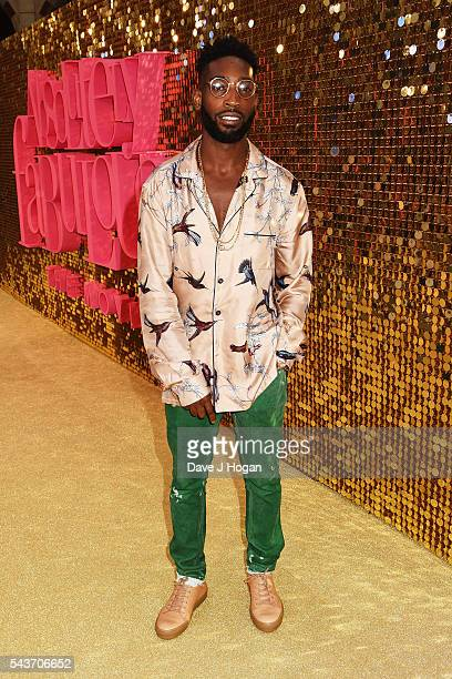 Tinie Tempah attends the World Premiere of 'Absolutely Fabulous The Movie' at Odeon Leicester Square on June 29 2016 in London England
