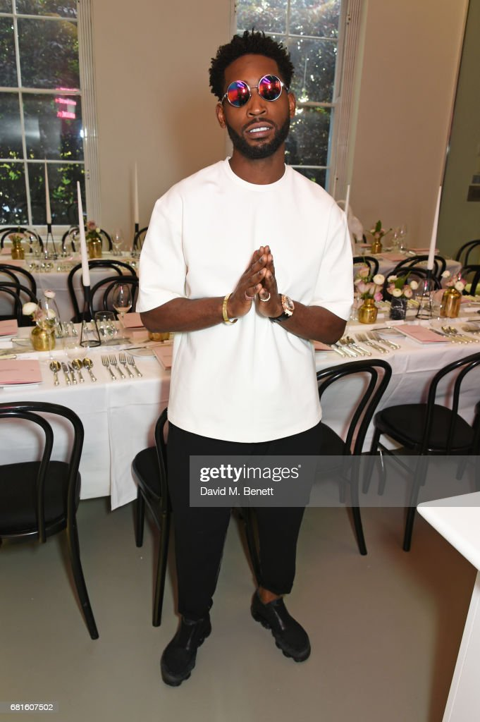 Tinie Tempah hosts the Clos19 launch dinner on May 10, 2017 in London, England.