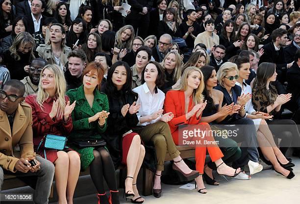 Tinie Tempah Melanie Laurent Kim Heesun Vicki Zhao Michelle Dockery Rosie HuntingtonWhiteley Freida Pinto Rita Ora Kate Beckinsale Lily Mo Sheen sit...