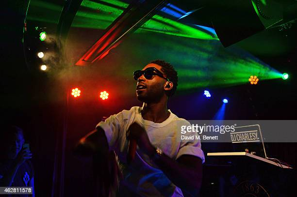 Tinie Tempah performs at The Arts Club on February 5 2015 in London England