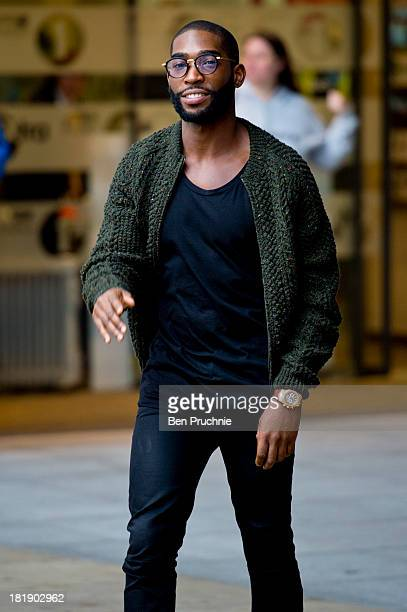 Tinie Tempah sighted at BBC Radio Studios on September 26 2013 in London England