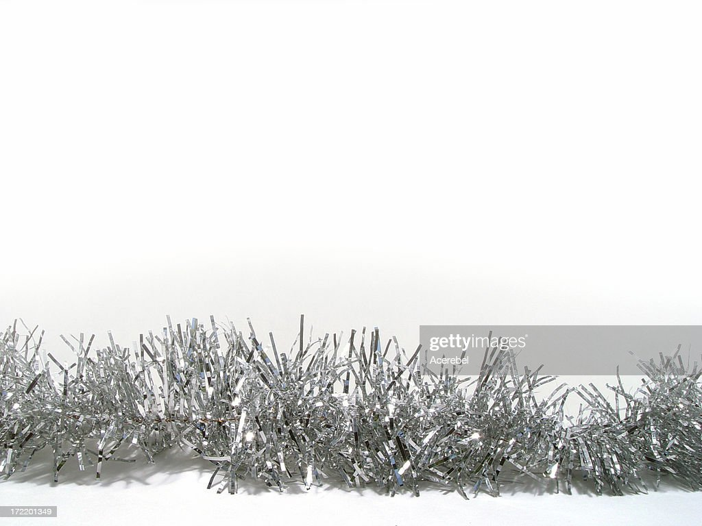 Tinsel for text