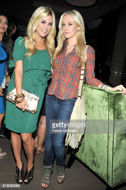 Tinsley Mortimer and Dabney Mercer attend COLUMBIA PICTURES THE CINEMA SOCIETY host the after party for 'THE SOCIAL NETWORK' at Gansevoort Park...