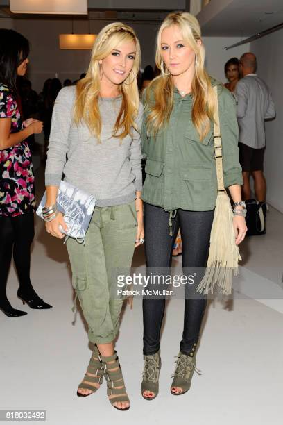 Tinsley Mortimer and Dabney Mercer attend SANCHEZ Spring 2011 Presentation at 148 West 37th St on September 16 2010 in New York City