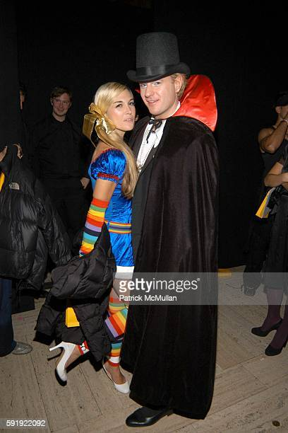 Tinsley Mortimer and Daniel Benedict attend FENDI 80th ANNIVERSARY All Hallow's Eve Party hosted by KARL LAGERFELD at 25 Broadway on October 29 2005...