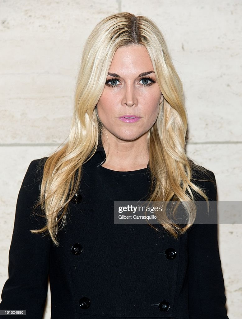 <a gi-track='captionPersonalityLinkClicked' href=/galleries/search?phrase=Tinsley+Mortimer&family=editorial&specificpeople=207123 ng-click='$event.stopPropagation()'>Tinsley Mortimer</a> attends Fall 2013 Mercedes-Benz Fashion Show at The Theater at Lincoln Center on February 11, 2013 in New York City.