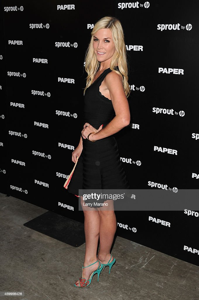 Tinsley Mortimer attends Paper Magazine, Sprout By HP & DKNY Break The Internet Issue Release at 1111 Lincoln Road on December 4, 2014 in Miami, Florida.