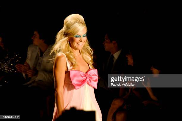Tinsley Mortimer attends Richie Rich 2011 Fashion Show at The Studio at Lincoln Center on September 9 2010 in New York City