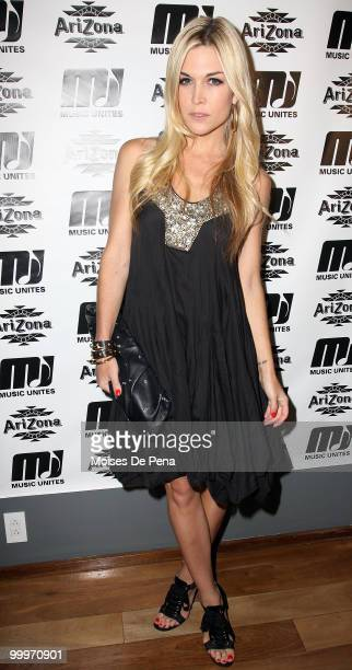 Tinsley Mortimer attends the first anniversary presentation of Music Unites at The Cooper Square Hotel on May 17 2010 in New York City