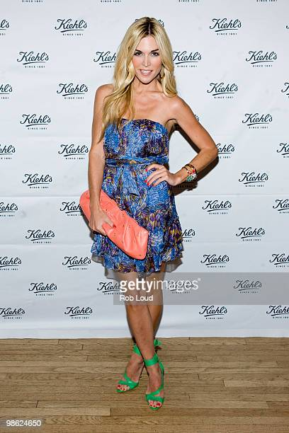 Tinsley Mortimer attends the unveiling of Limited Edition Kiehl's Acai DamageProtecting Toning Mists to benefit the Rainforest Alliance at the...