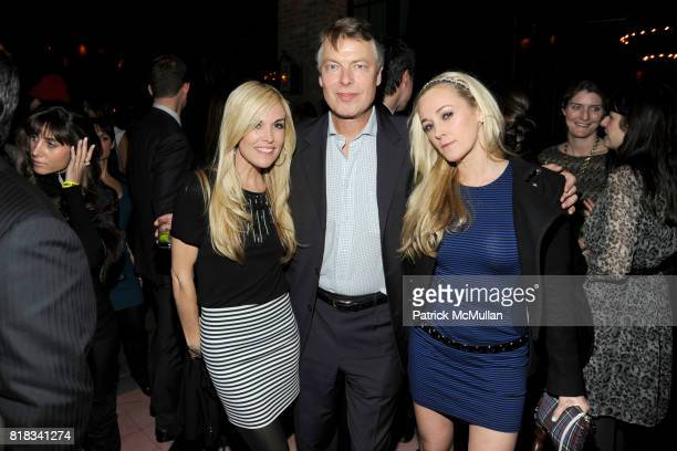 Tinsley Mortimer Richard Johnson and Dabney Mercer attend HBO THE CINEMA SOCIETY host the after party for 'HOW TO MAKE IT IN AMERICA' at Bowery Hotel...