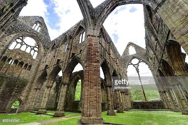 Tintern Abbey, Monmouthshire, Wales, UK