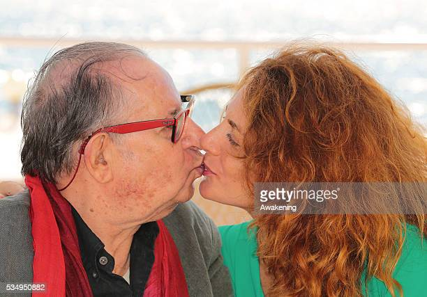 Tinto Brass and actress Caterina Varzi are seen during the 70th Venice International Film Festival