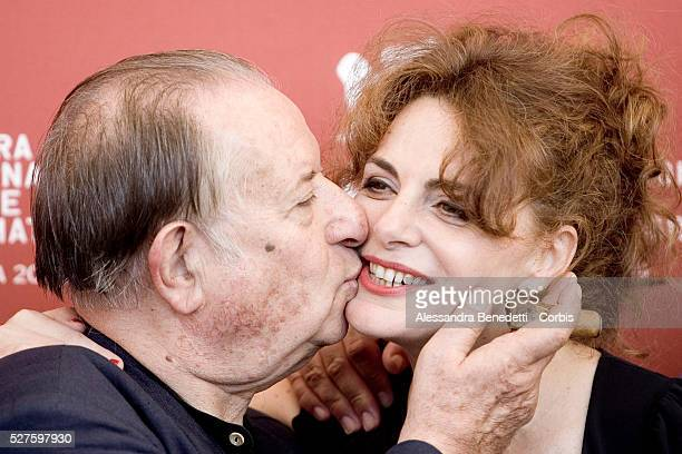 Tinto Brass attends the photocall of the short film 'Hotel Courbet' during the 66th Venice Film Festival