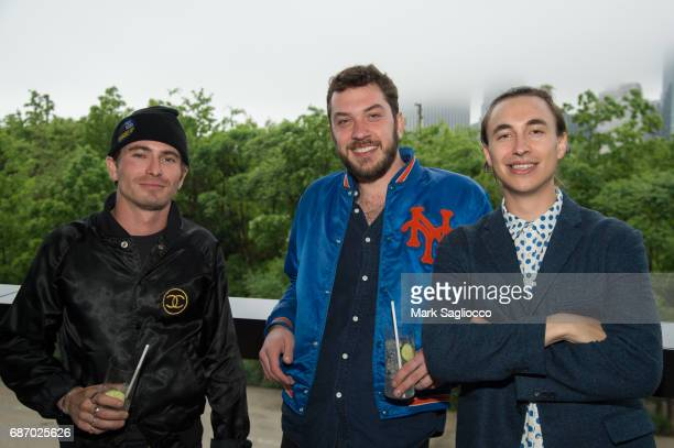Tinton Huss Bejamin Shweky and Gavin Harris attend Gotham Magazine's Celebration of it's Late Spring Issue with Noah Syndergaard at 1 Hotel Brooklyn...