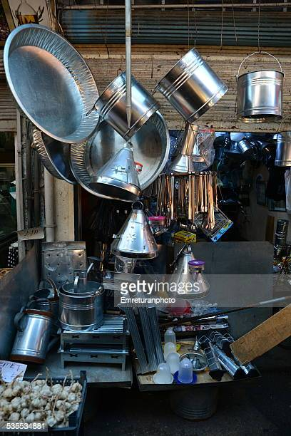 Tin-tools manufacturer shop
