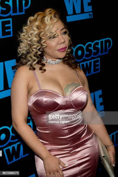 Tiny Harris attends 'Bossip On WE' Atlanta launch celebration at Elevate at W Atlanta Midtown on June 27 2017 in Atlanta Georgia