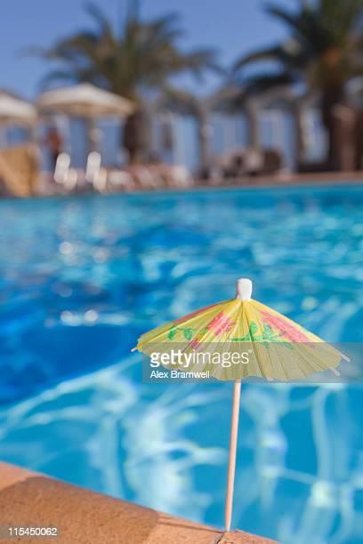Tiny summer parasol