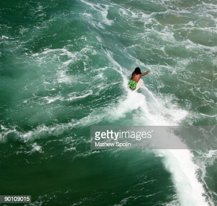 Tiny Surfer : Stock Photo