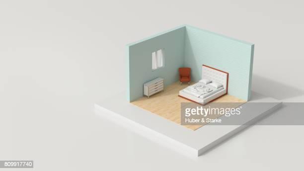 tiny world,  bedroom