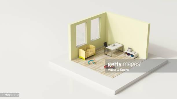 tiny world, home office