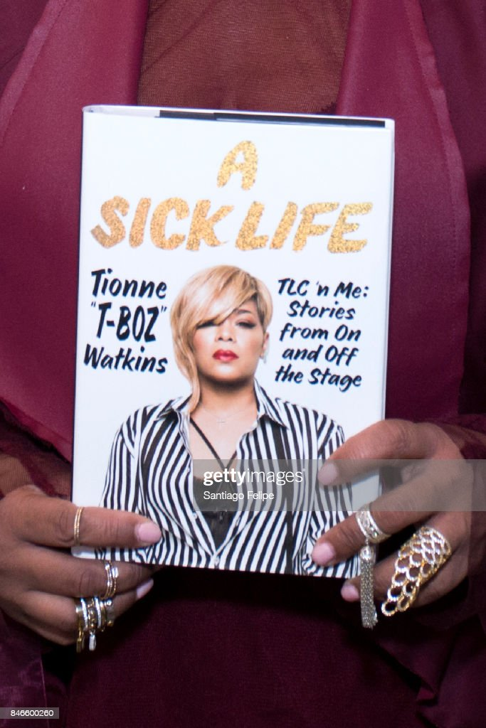 Tionne 'T-Boz' Watkins visits Build Presents to discuss her new book 'A Sick Life: TLC 'n Me: Stories From On And Off The Stage' at Build Studio on September 13, 2017 in New York City.