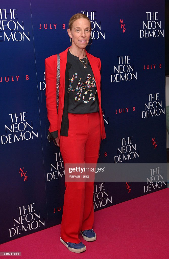 Tiphaine De Lussy arrives for the UK Premiere of The Neon Demon at the Picturehouse Central on May 31, 2016 in London, United Kingdom.