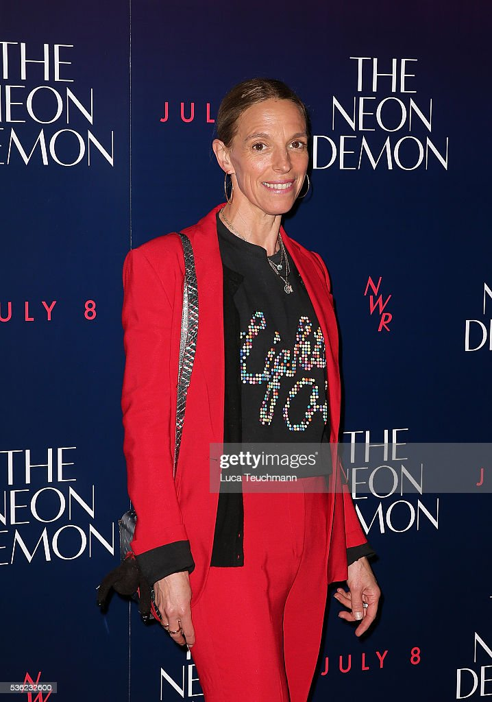 Tiphaine De Lussy arrives for the UK Premiere of The Neon Demon on May 31, 2016 in London, United Kingdom.