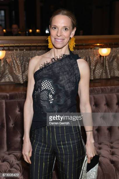 Tiphaine De Lussy attends Roland Mouret's The Dinner of Love at Cecconi's a preopening dinner at The Ned on April 25 2017 in London England