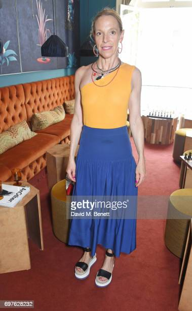 Tiphaine de Lussy attends the Isa Arfen x Alex Eagle lunch at The Chess Club on June 19 2017 in London England