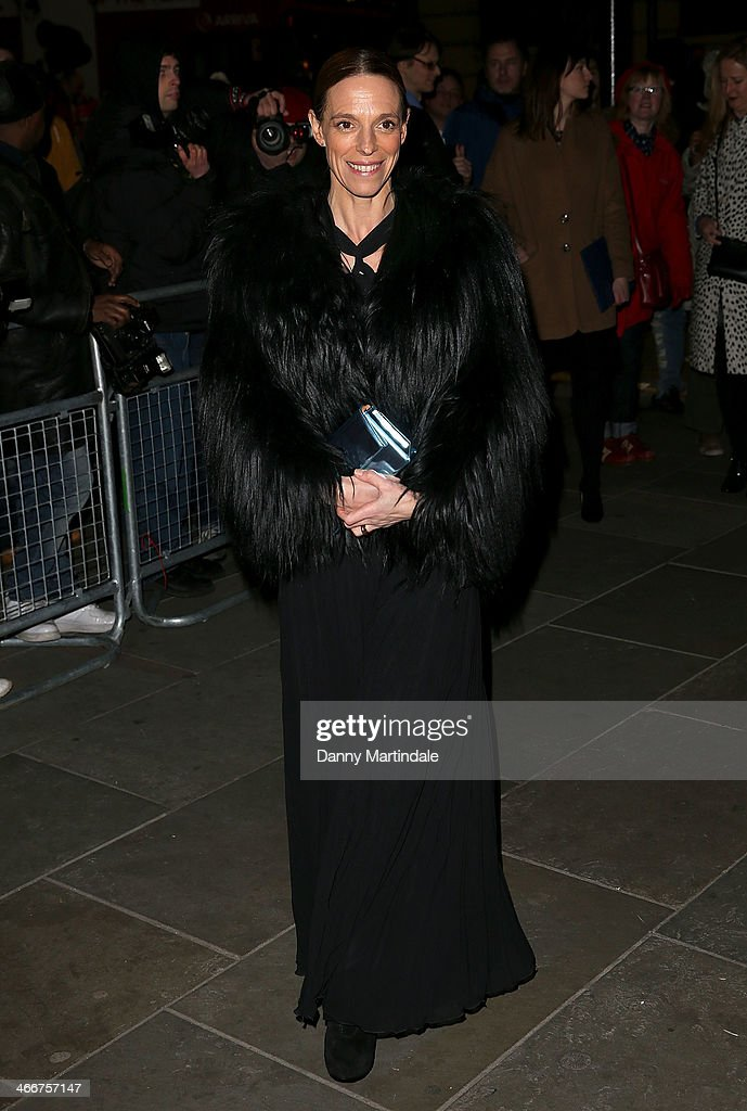 Tiphaine de Lussy attends the VIP private view of David Bailey: Bailey's Stardust at National Portrait Gallery on February 3, 2014 in London, England.