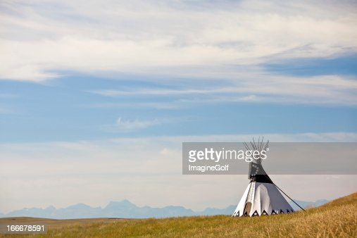 Tipi on the Great Plains