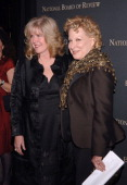 Tipper Gore and Bette Midler during The 2006 National Board of Review of Motion Pictures Annual Gala Red Carpet at Cipriani in New York City New York...