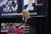 Tipper Gore attends the Mental Health HOPE symposium at the Reserve Officers Association on November 16 2011 in Washington DC