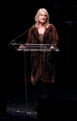 Tipper Gore makes a few remarks at the Thelonious Monk International Jazz Drums Competition and Gala Concert at The Kennedy Center on September 23...