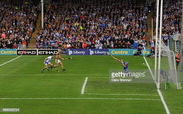 Tipperary Ireland 13 August 2016 Colin Fennelly of Kilkenny scores his side's first goal during the GAA Hurling AllIreland Senior Championship...