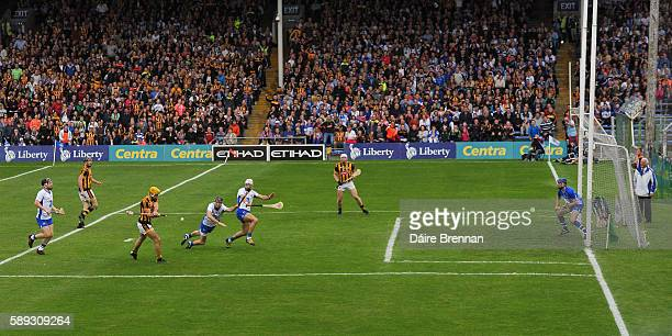 Tipperary Ireland 13 August 2016 Colin Fennelly of Kilkenny scores his side's second goal during the GAA Hurling AllIreland Senior Championship...