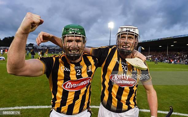 Tipperary Ireland 13 August 2016 Kilkenny players Paul Murphy left and Lester Ryan celebrate after the GAA Hurling AllIreland Senior Championship...