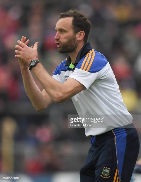 Tipperary Ireland 21 May 2017 Tipperary selector Declan Fanning during the Munster GAA Hurling Senior Championship SemiFinal match between Tipperary...