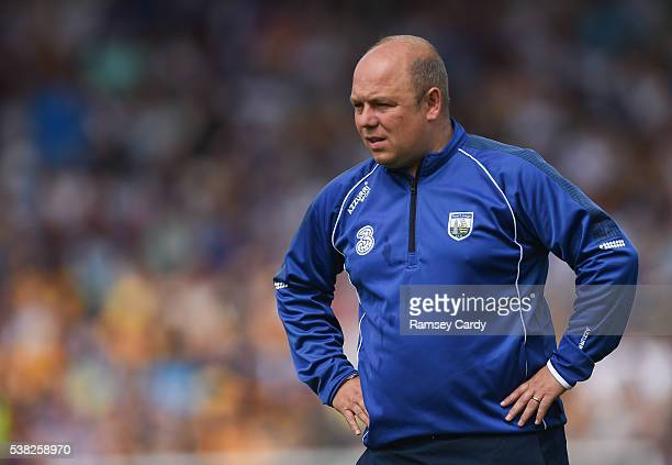Tipperary Ireland 5 June 2016 Waterford manager Derek McGrath ahead of the Munster GAA Hurling Senior Championship SemiFinal match between Waterford...