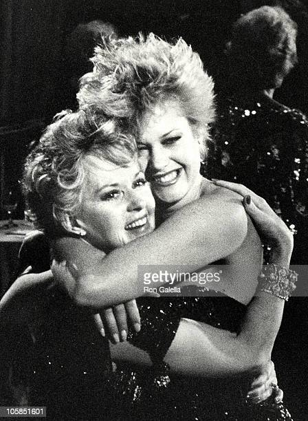 Tippi Hedren and Melanie Griffith during The 44th Annual Golden Globe Awards at Beverly Hilton Hotel in Beverly Hills California United States