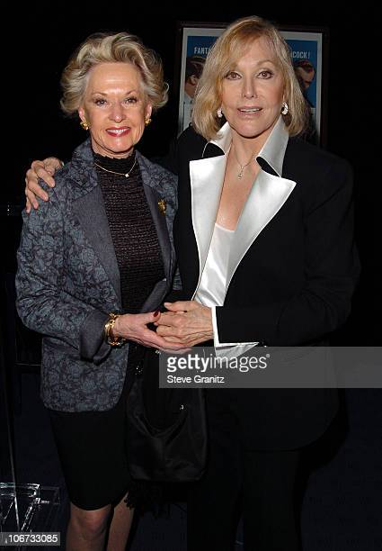 Tippi Hedrin and Kim Novak during Kim Novak Appears at 'Vertigo' Screening at The Egyptian Theatre in Hollywood CA United States