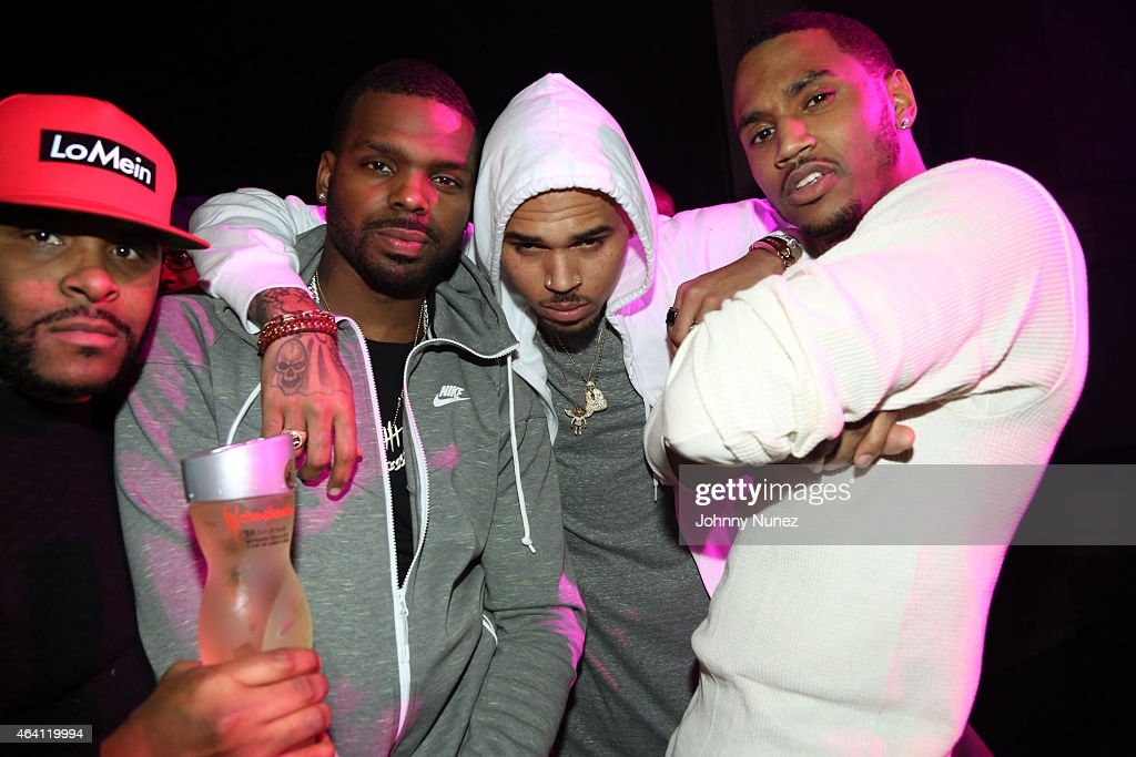 trey songz after party getty images. Black Bedroom Furniture Sets. Home Design Ideas