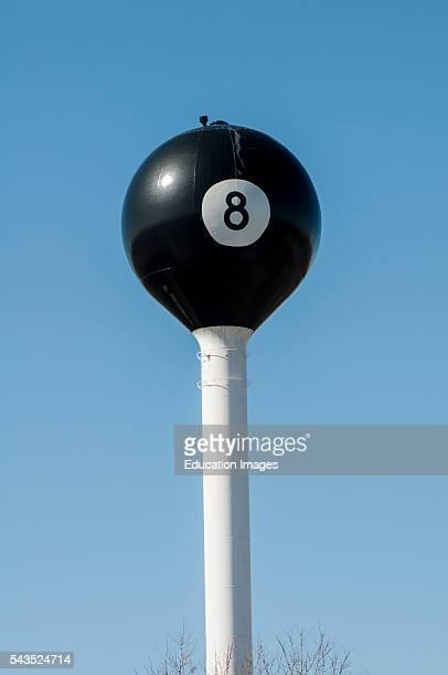 Tipton Missouri Watertower World's largest eight ball