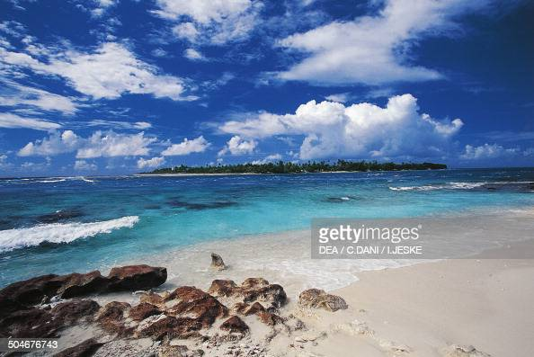 Tiputa Pass Rangiroa lagoon Tuamotus French Polynesia Overseas Territory of France
