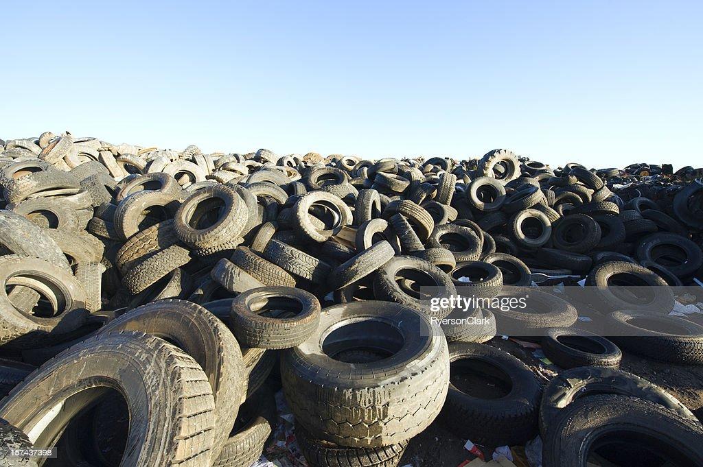 Tire Dump. : Stock Photo