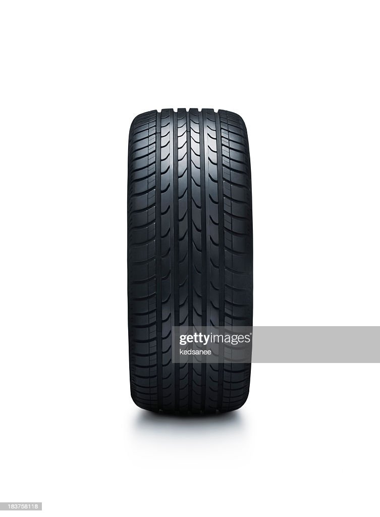 Tire isolated on white