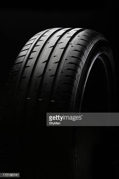 Preto dos pneus