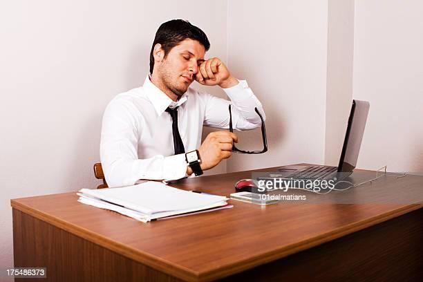 Tired Businessman