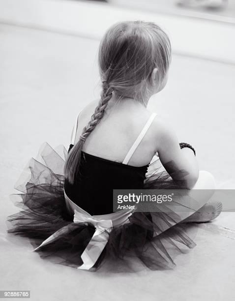 Tired little ballerina